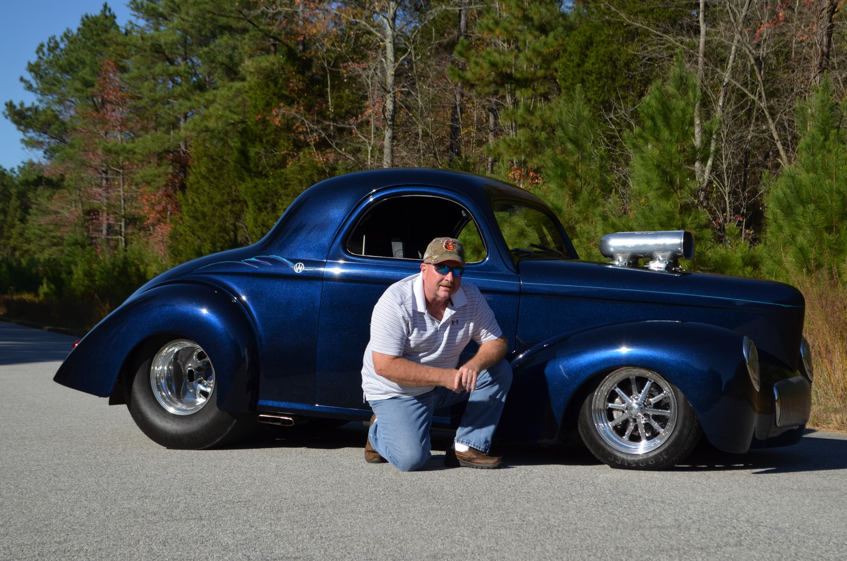 2017 Larry Mills - '41 Willy's Coupe
